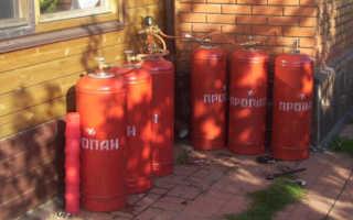 Как правильно отапливать загородный дом газовым баллоном?
