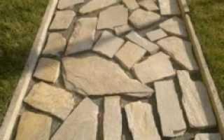 Технология укладки природного камня своими руками