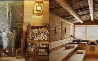 Как красиво оформить интерьер бани, фото примеры необычных идей и дизайна