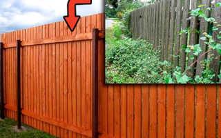 Чем обработать деревянный забор: методы защиты от гниения и покраска
