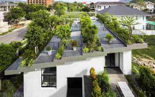 Сад на крыше: способы озеленения крыш домов с фото