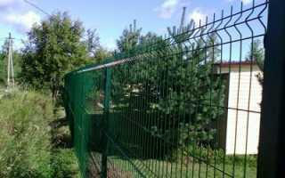 Заборы из сетки Гиттер в Москве и Московской области