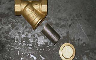 Очистка фильтров грубой очистки воды перед водосчетчиками