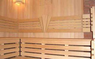 Чем обшить парилку в бане: древесина для отделки, каким деревом отделать парилку внутри лучше, выбор