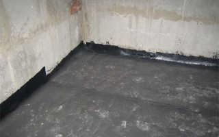 Гидроизоляция подвала изнутри – защита погреба от грунтовых вод