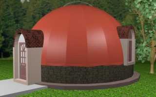 Купольная баня: проекты с фото — рекомендации по строительству