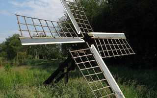 Альтернативные источники энергии (энергия ветра)