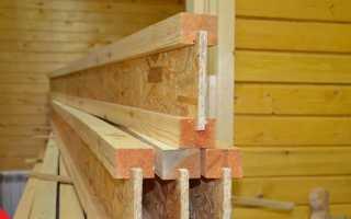 Деревянные двутавровые балки перекрытия: производство, расчет, как сделать своими руками