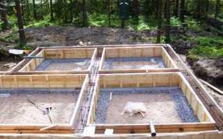 Ленточный фундамент под деревянный дом: технология строительства