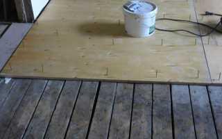 Чем выровнять деревянный пол в частном доме из досок, как правильно работать с фанерой