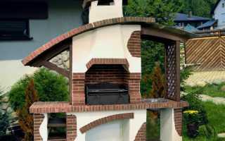 Мангал из кирпича — 110 фото лучших вариантов для дачи