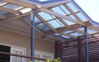 Крыша из поликарбоната: 64 фото и советы по применению материала