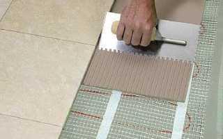 Плиточный клей для теплого пола: какой лучше подходит