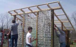 Строительство беседки из пластиковых бутылок своими руками, фото, интересные варианты