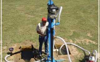 Скважина на воду принцип работы схема и устройство