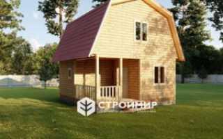 Проекты двухэтажных бань: строительство бань с мансардой под ключ