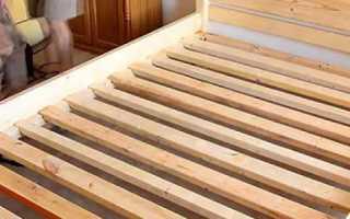 Как сделать кровать своими руками из дерева — пошаговая инструкция + Фото