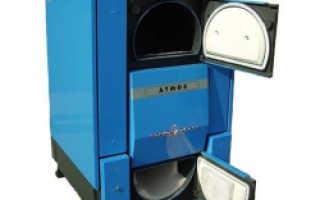 Пиролизные котлы Атмос: технические характеристики