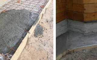 Марка бетона для отмостки дома