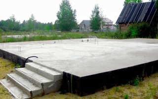 Устройство фундаментной плиты схема, фото, видео