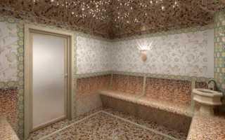 Строительство турецкой бани под ключ в Москве по выгодной цене