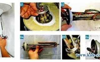 Ремонт водонагревателя своими руками: замена ТЭНа и других деталей