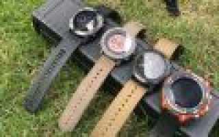 Часы для охоты и рыбалки: критерии выбора и обзор лучших моделей