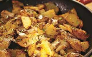 Маслята, жаренные с картошкой – рецепт приготовления с фото