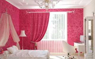 Розовый цвет в интерьере — 50 фото идей удачного сочетания ярких оттенков