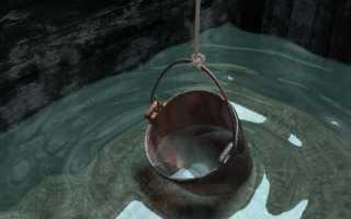 Как быстро набирается вода в колодце и от чего это зависит