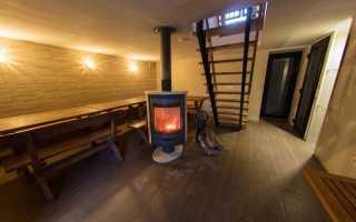 Баня (сауна) в подвале или цокольном этаже частного дома: как построить своими руками, проекты +