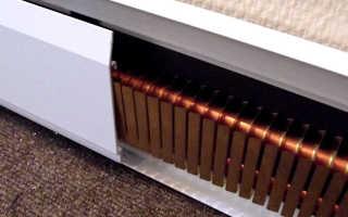 Инфракрасный электрический теплый плинтус: установка