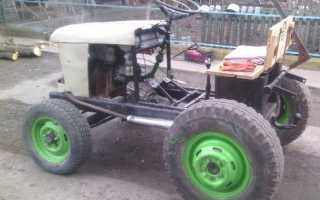 Самодельные минитрактора: как сделать мини-трактор своими руками