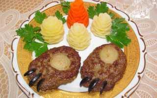 Медвежья лапа: пошаговый рецепт с фото — с фаршем, печенью, курицей