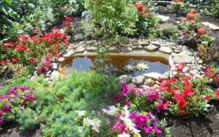 Этапы создания водоема из старой ванны на даче и способы его оформления