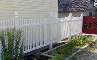 Решетчатый забор из металлических панелей (фото), отличия от сплошных секций