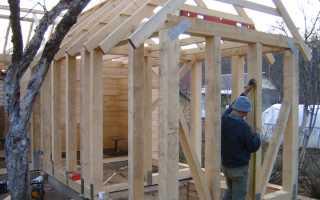 Постройка каркасной бани своими руками: поэтапное строительство