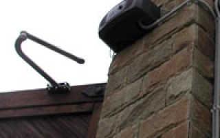 Оборудование для распашных ворот: выбор привода и их характеристика