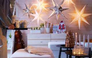 Как украсить комнату на Новый год 2020: красивые фото для идей
