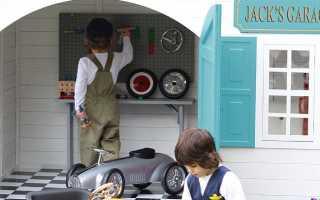 Детский игровой домик своими руками: 75 фото идей