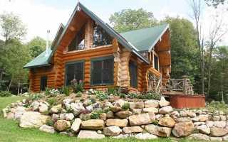 Дома из оцилиндрованного бревна: 65 фото дизайна и обработки древесины